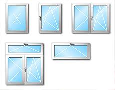 Typy plastových oken