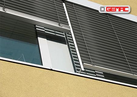 Balkonové žaluzie